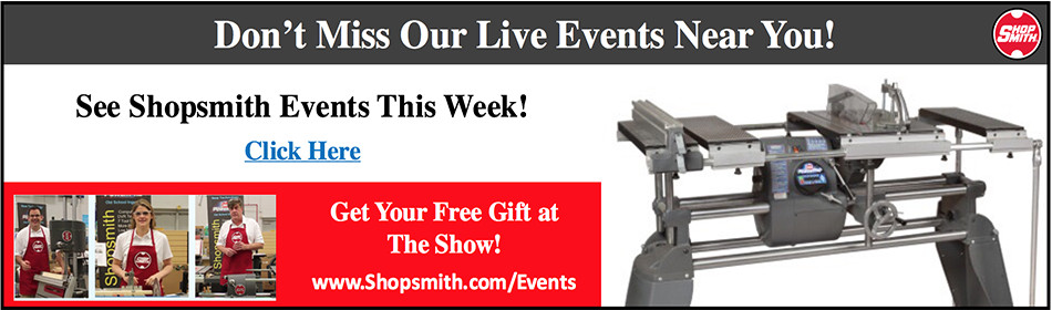 Don't Miss Our Live Events Near You.  Get Your Free Gift at the Show